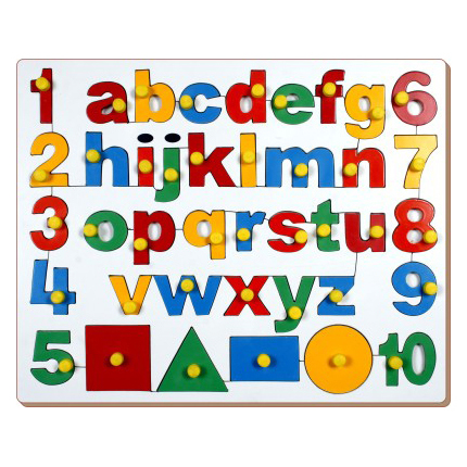 Small Alphabet Number & Shapes