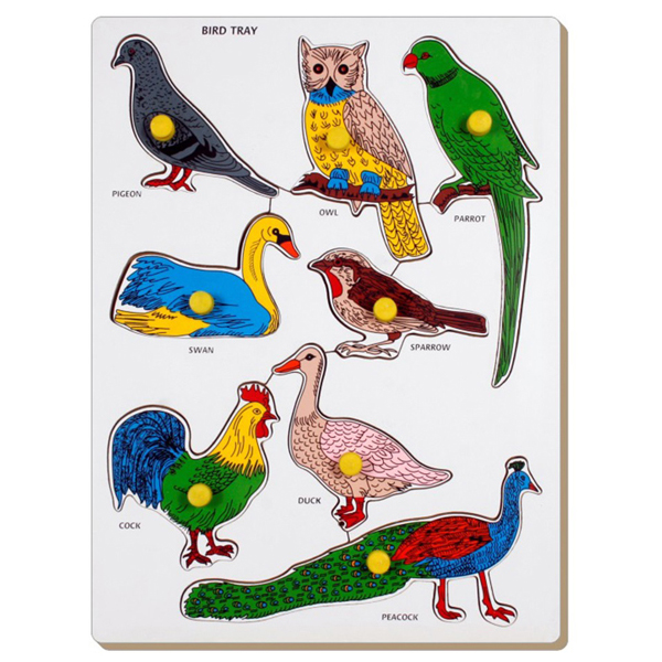 Bird Tray - Puzzle