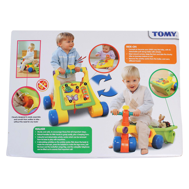Tomy- Toddle & Ride