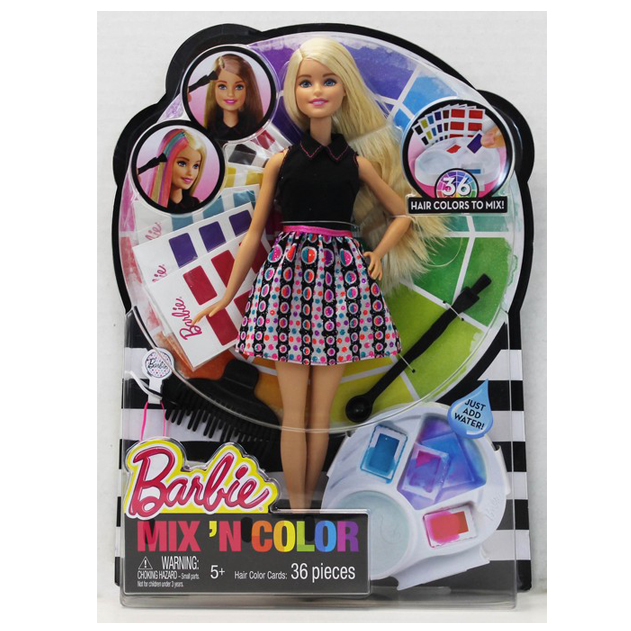 Barbie -Mix & Colour