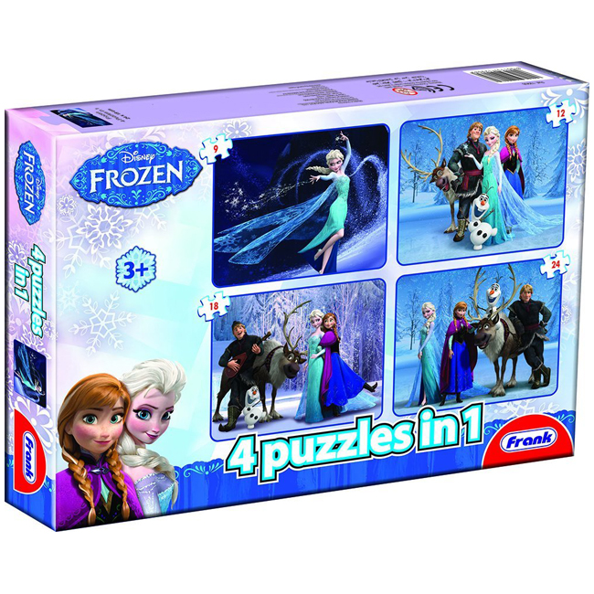 Disney Frozen 4 in 1