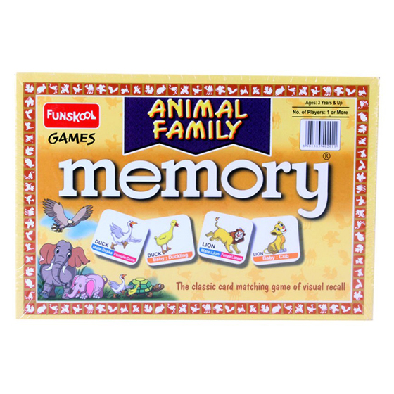 Animal Family - Memory Game
