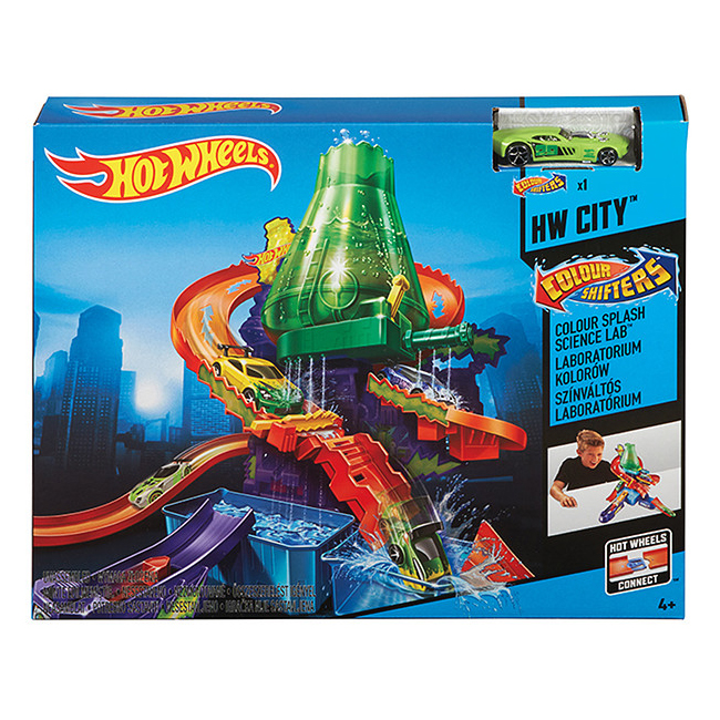 Hotwheels Track - Colour Changing