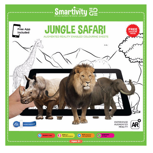 Jungle Safari - Colour And Scan